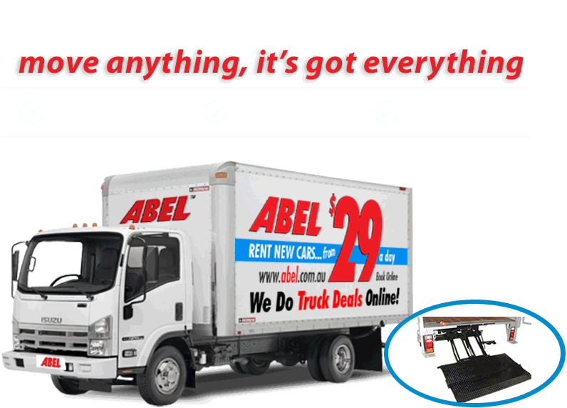 Truck from just $79 a day