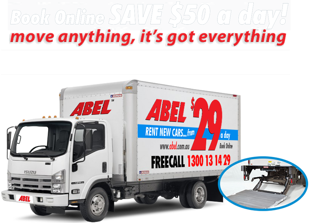 Truck from just $95 a day
