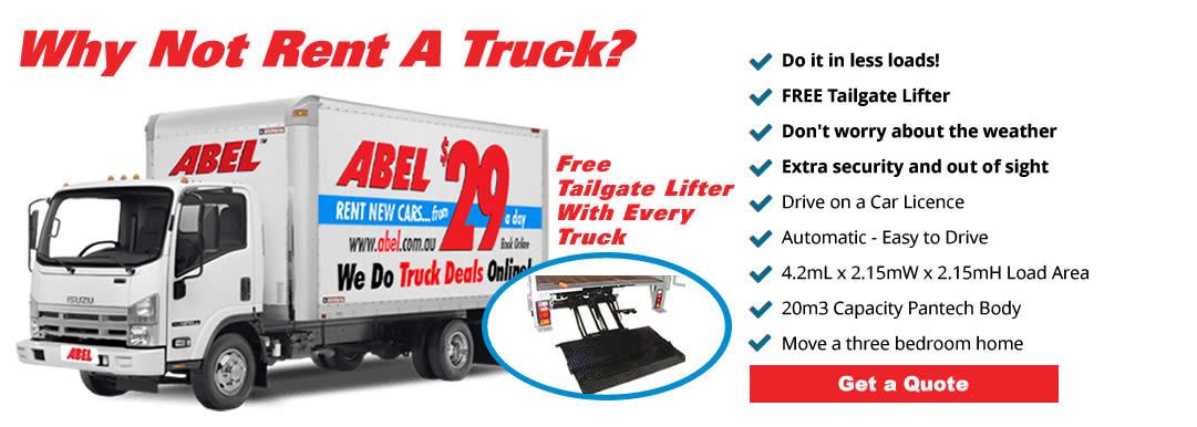 Cheap Truck Rentals >> Moving Truck Hire Brisbane Abel Truck Hire