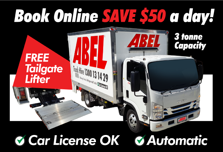 Truck from just $50 a day